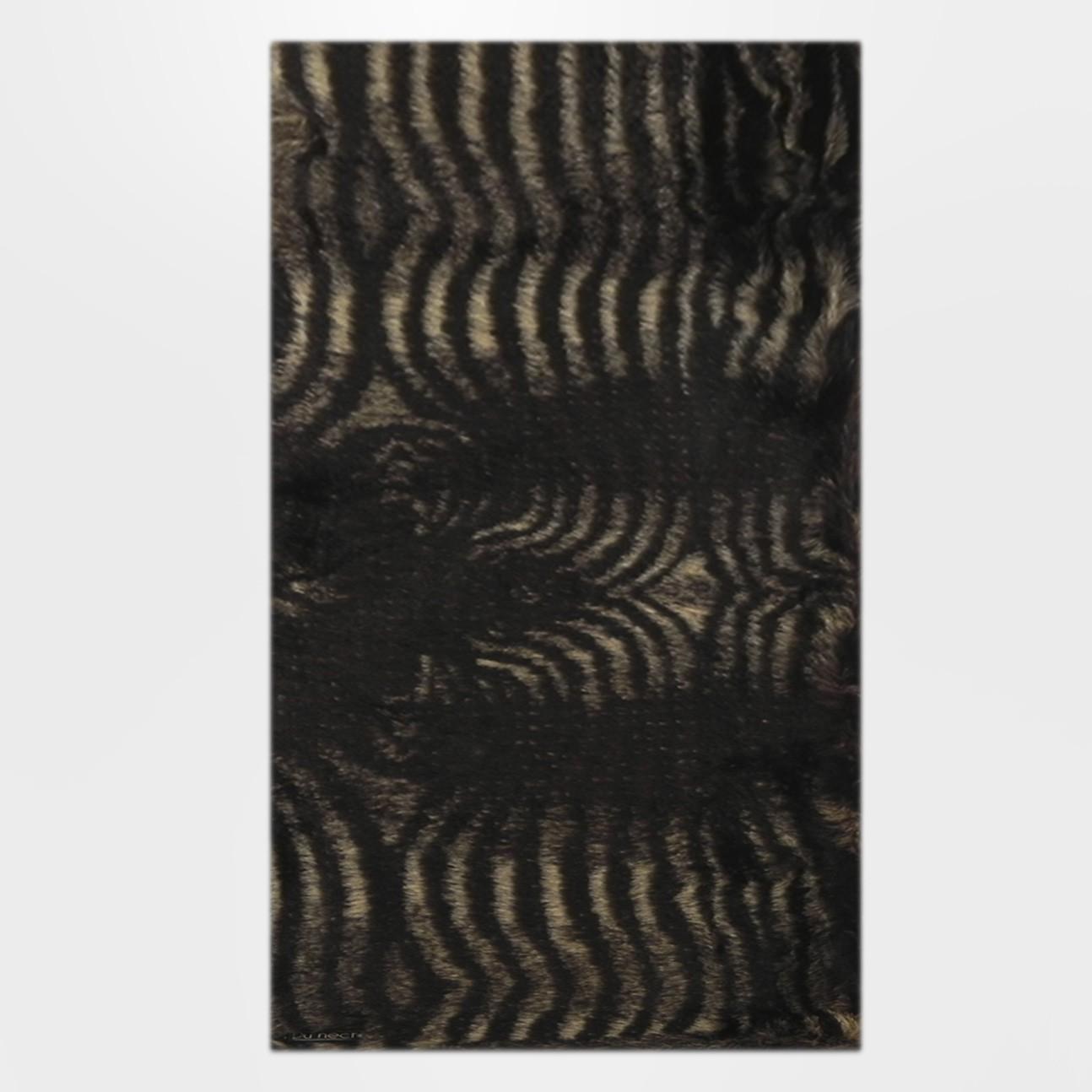 Tapete passadeira pele ecol gica zebra for Zebra tapete