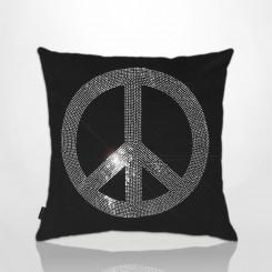 Almofada Customizada Paz e Amor