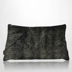 Almofada envelope pele ecológica leopardo