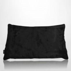 Almofada envelope pele ecológica mink preto