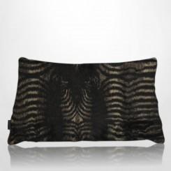 Almofada envelope pele ecológica zebra