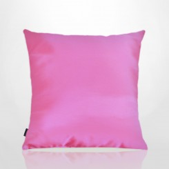 Almofada Sem Aba Tafetá Pink