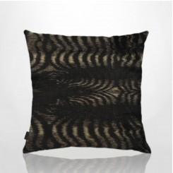 Almofada Sem Aba Pele Ecológica Zebra