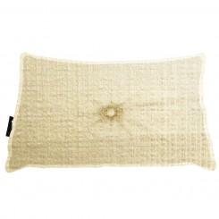 Almofada Frizada Envelope Butã com Botão