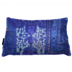 Almofada Envelope Persa Azul FRIZADA