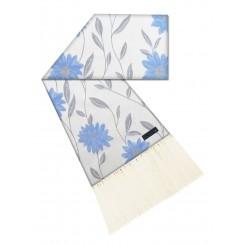 Manta para sofá florença azul