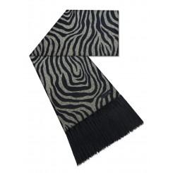 Manta para sofá zebra m