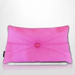 Almofada Frizada Envelope Tafetá Pink