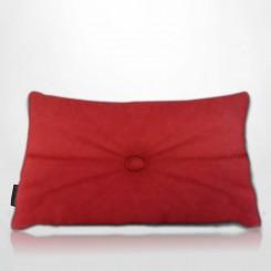 Almofada Frizada Envelope Tafetá Vermelho