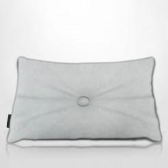 Almofada Frizada Envelope Tafetá Branco