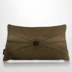 Almofada Frizada Envelope Tafetá Castor