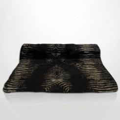 Combo 9 Pezeiras Pele Ecológica de Zebra