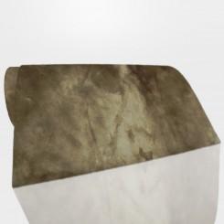 Tapete Retangular Pele Ecológica Mink Caramelo