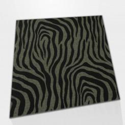Tapete Quadrado  Zebra M