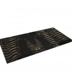 Tapete Passadeira Pele Ecológica Zebra
